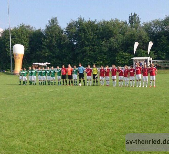 ERDI MEISTERCUP SV Thenried - 1. FC Nuernberg 06.07.2013