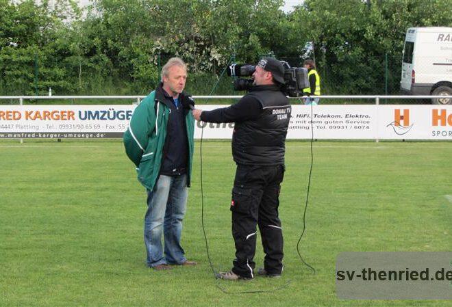 Entscheidung SV Thenried - FC Moosburg 25.05.2013 120m