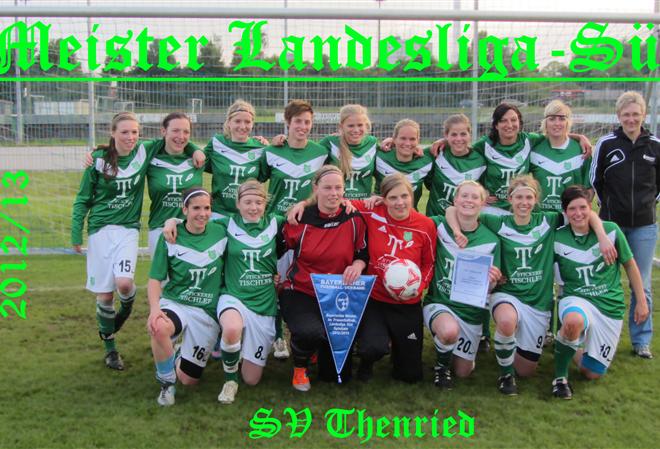 Entscheidung SV Thenried - FC Moosburg 25.05.2013 Meister 124m
