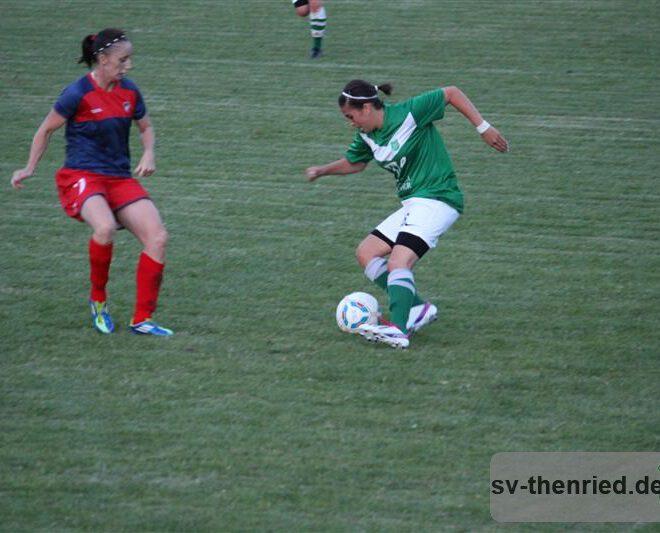 SV Thenried - 1. FC Viktoria Pilsen 22.08.2013 113m